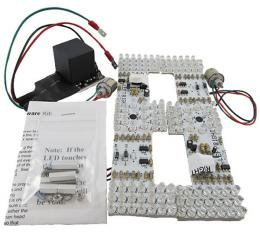 Mustang Deluxe Non-Sequential LED Tail Light Lamp Kit, 1964-1966