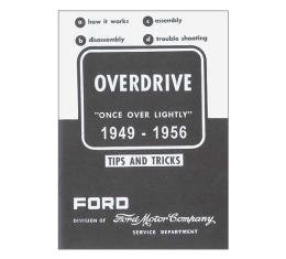 Overdrive Instruction Manual - Overdrive Tips And Tricks