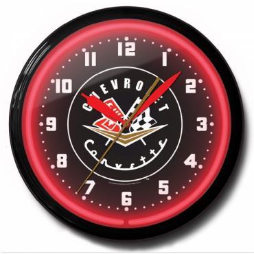 Corvette 56-57 Neon Clock