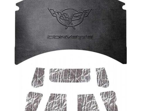 Quiet Ride Hood Cover and Insulation Kit, AcoustiHOOD  25-12571 Corvette 1997-2004
