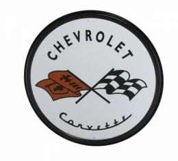 Corvette 1953 Logo Tin Sign