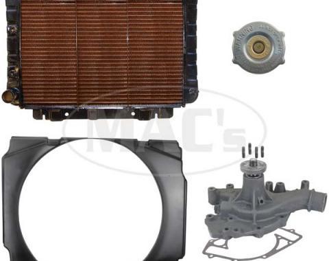 70/71 B/R Fairlane/Ranchero Cooling Kit (3 Row-429)