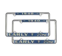License Plate Frame - 1940 Ford