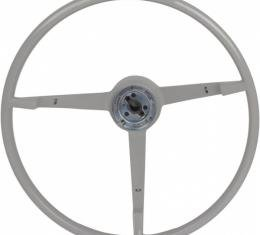 Steering Wheel - Cars With A Generator - White