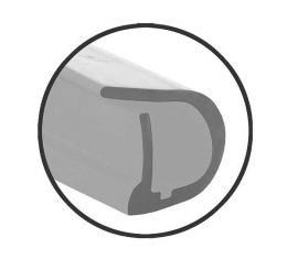 Lower Door Seals - Ford Coupe & Ford Tudor Sedan