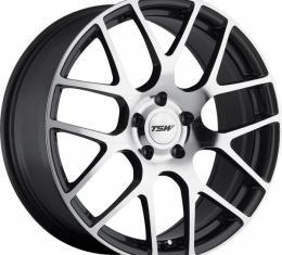 Corvette Wheel, Nurburgring, 20x10.5',' Silver, One Piece Wheel, Rear Only, 1984-2017