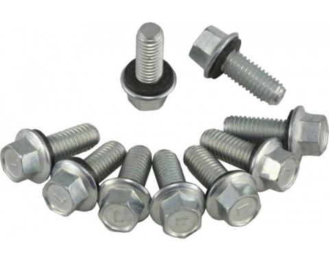 Corvette Gas Neck to Tank Screws, 9 Piece Set, 1963-1974