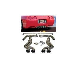 """Corvette SLP """"Loud Mouth"""" Exhaust Set, 1997-2004"""