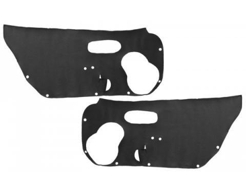 """Corvette Door Panel Insulators, """"Whisper Quiet"""", 1997-2004"""