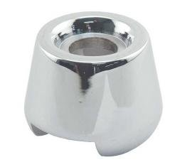 Windshield Frame Cone - Die Cast - Chrome - Ford