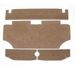 Camaro Trunk Upholstery Panel Kit, 1967-1969