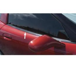 Corvette Door Window Seal,Fixed Roof Coupe/Z06 Outer,Upper,1999-2004