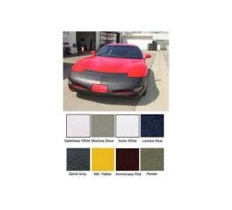 Corvette Nose Mask, Colgan Color Matching Vinyl, Without License Plate Opening, 1997-2004
