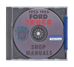 Ford Pickup Truck Shop Manual On CD