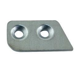 Door Latch Striker Plate Insert Cover - Left - Ford & Mercury