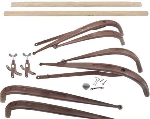 Model A Ford Top Iron & Wood Kit - Standard Roadster