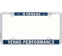 Nova License Frame, Yenko, 1966