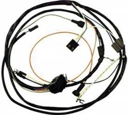 El Camino Engine Harness, Special High Performance 327/350Hp, With Warning Lights And Without Air Conditioning, 1966