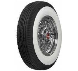 Tire - 670 X 15 - 3-1/4 Whitewall - Tubeless - Universal
