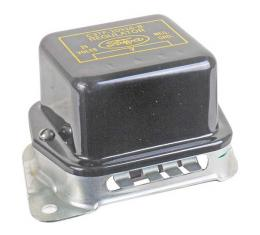 Alternator Voltage Regulator - With Power Convertible Top Or A/C