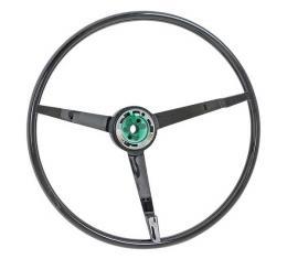 Ford Mustang Steering Wheel - 3 Spoke - Black - For Car With An Alternator