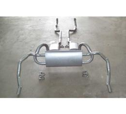 Exhaust System, Z28 With Resonators, Original Style, 1969
