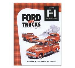 Ford Pickup Truck Sales Brochure - F1