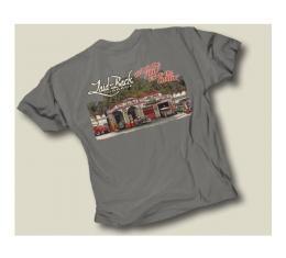 Laid Back Dream Garage T-Shirt, Grey