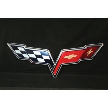 Corvette Metal Sign, 2005-2013