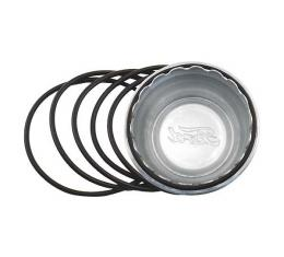 Model A Ford Hub Cap Seal Set - 6 Pieces - Rubber O Rings