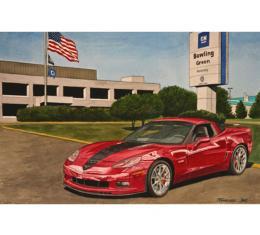 Corvette Cooksey's Legacy, Fine Art Print By Dana Forrester, 11x17
