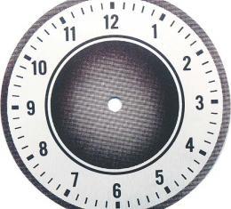 Glove Box Clock Face - Brown - Ford