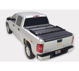 Truxedo Deuce Tonneau Bed Cover, Chevy Or GMC Truck, 8' Bed, With Factory Installed Track System, BLack, 2007-2013