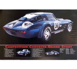 Corvette Competition Grand Sport Corvette Poster