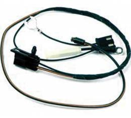 Firebird Clock Wire Harness, For Console Mounted Clock, 1968