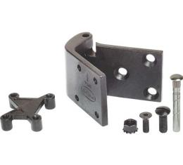 Door Hinge Set - Precision-Cast All Steel - Both Front Doors - Ford Passenger Except Station Wagon