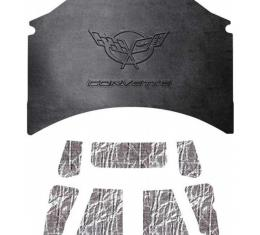 Quiet Ride Hood Cover and Insulation Kit, AcoustiHOOD| 25-12571 Corvette 1997-2004