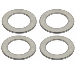Model T Ford Wingnut Washer Set - 4 Pieces - Stainless Steel