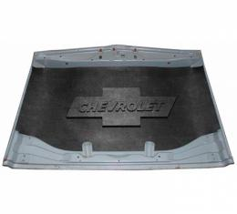 Chevy Truck Under Hood Cover, Quietride AcoustiHOOD, 3-D Molded, With Logo, 1955-1959