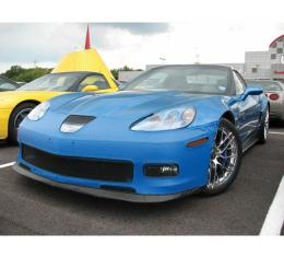 Corvette Speed Lingerie Nose Mask With Removable License Plate Pocket For ZR1, 2009-2013