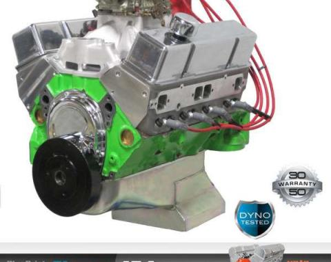 Nova 454 C.I. Blueprint Pro Series Crate Engine 575HP, Roller Cam, Aluminum Heads, 1962-1979