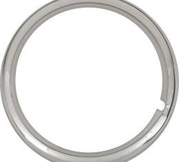 Trim Ring - Polished Stainless Steel - For 14 Wheels - FordOnly