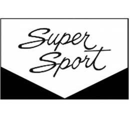 Legendary Auto Interiors Nova Rubber Floor Mats, With SuperSport Script, 1966-1967
