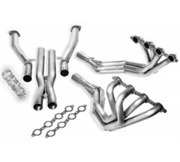 Borla Exhaust Systems Long Tube Headers With X-Pipe, 1.75 Inch Diameter Tubing, 2.75 Inch Collector, Off Road Use Only| 17259 Corvette & Z06 1997-2004