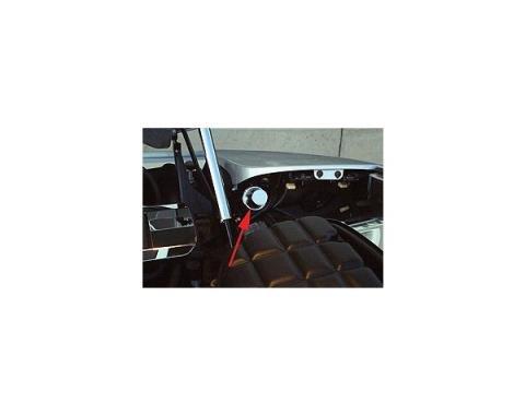 Corvette Headlight Motor Covers, 1997-2004