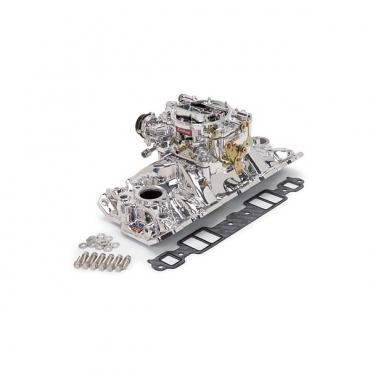 Early Chevy Intake Manifold, Without EGR Valve, ''Performer EPS'', Edelbrock, 1949-1954