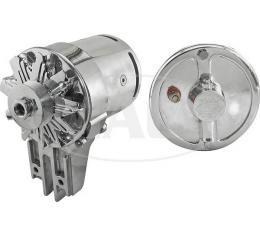 PowerGen - 12 Volt Negative Ground - 5/8 Pulley - Chrome Case - Ford & Mercury Flathead V8