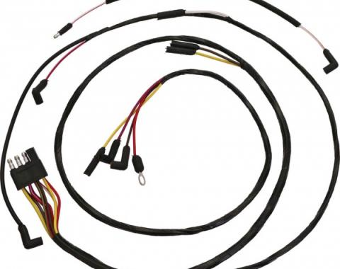 Ford Mustang Firewall To Engine Gauge Feed - All V-8 With Gauges