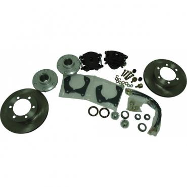 Chevy Truck Brake Upgrade Kit, Mustang II, 6 Lug, 1947-1959