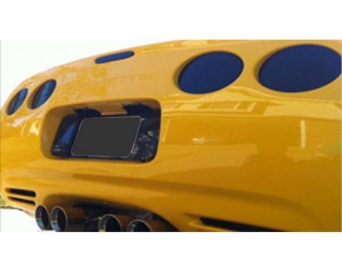 Corvette - Taillight Blackout Kit,  Acrylic, 1997-2004